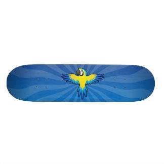 Cartoon-Macaw/Papagei Skateboardbrett