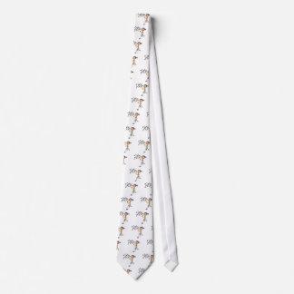 Cartoon-Mädchen-durchbrennenblasen Krawatte