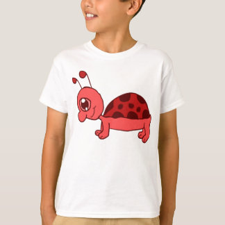 Cartoon-Marienkäfer-Shirt T-Shirt