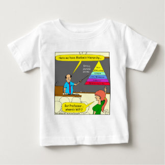 Cartoon mit 607 grundlegender Menschenbedarf Baby T-shirt