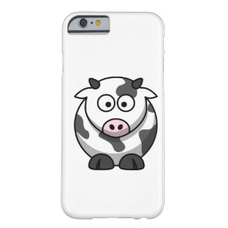 Cartoon moo kuh barely there iphone 6 hülle