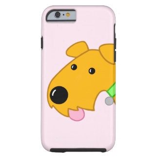 Cartoon-Nahaufnahmeairedale-HundiPhone 6/6s Fall Tough iPhone 6 Hülle