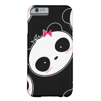 Cartoon-niedlicher Mädchen-Panda Barely There iPhone 6 Hülle