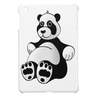 Cartoon-Panda-Bärn-angefülltes Tier iPad Mini Hüllen