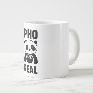 Cartoon-Panda Pho wirkliche weiße Tasse für