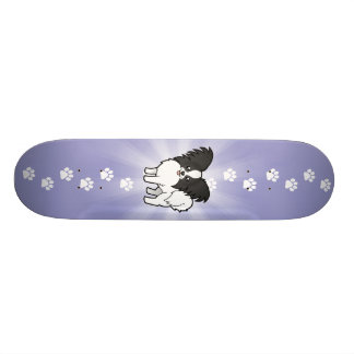 Cartoon Papillon Personalisierte Skatedecks