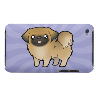 Cartoon Pekeingese (Welpe geschnitten) Barely There iPod Case