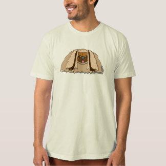 Cartoon Pekingese Hund T-Shirt