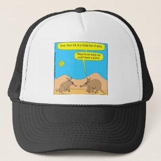 Cartoon Picknick mit 309 Aardvark Truckerkappe
