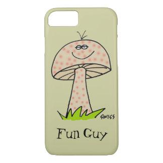 Cartoon-Pilz-Spaß-Typ-Pilz-lustiger Telefon-Kasten iPhone 8/7 Hülle