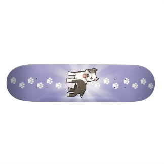 Cartoon Pitbull/amerikanisches Personalisierte Skateboards