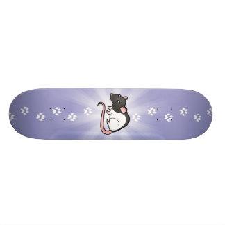 Cartoon-Ratte Skateboard Brett