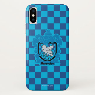 Cartoon Ravenclaw Wappen iPhone X Hülle
