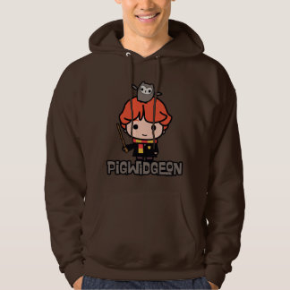Cartoon Ron Weasley und Pigwidgeon Hoodie
