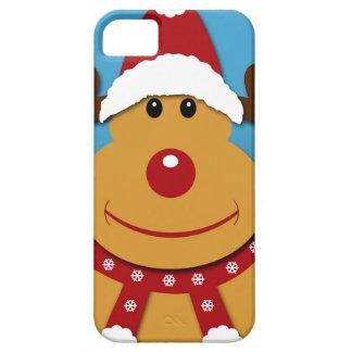 Cartoon Rudolph die Ren-Weihnachtsgeschenke Hülle Fürs iPhone 5