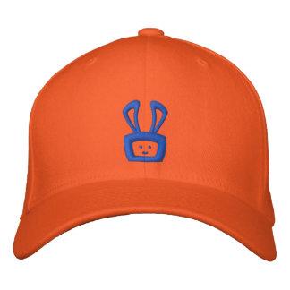 Cartoon saurer Oscar der Häschen-Hut (blaues Logo) Bestickte Baseballkappe