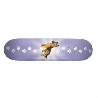 Cartoon-Schäferhund Individuelle Skateboarddecks