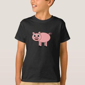Cartoon-Schwein T-Shirt