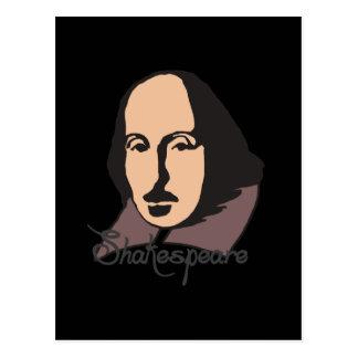 Cartoon Shakespeare Postkarten