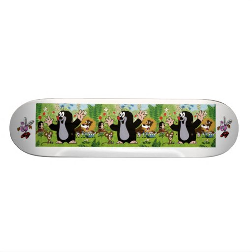 Cartoon Skateboard Bedrucktes Skateboard