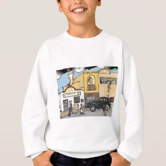 Cartoon-Skizze von Roanokes Sweatshirt