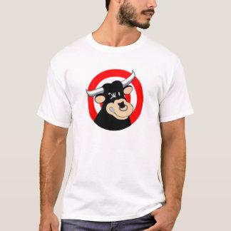 Cartoon-Stier-Bullauge T-Shirt