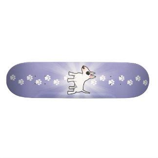 Cartoon-Stier-Terrier 21,6 Cm Skateboard Deck