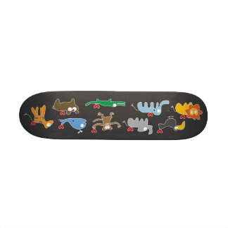 Cartoon-Tier-Familien-Spaß-GewohnheitSkateboard Individuelles Skateboard