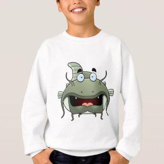 Cartoon-Wels Sweatshirt
