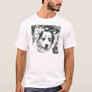 Cartoon-Wolljacke T-Shirt