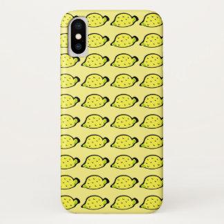 Cartoon-Zitronen iPhone X Hülle