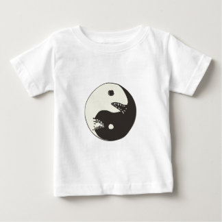 Cartoonart yin und Yang-Kampf Baby T-shirt
