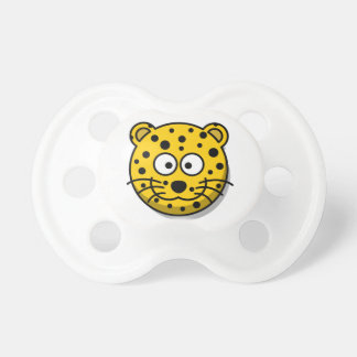 Cartooncheetah-wilde Katze Schnuller