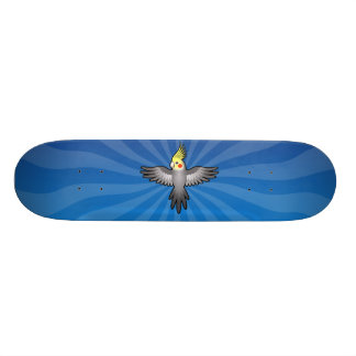 CartoonCockatiel Skateboard Bretter