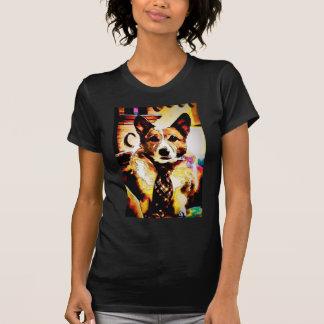 Cartooned Pembroke-WaliserCorgi T-Shirt