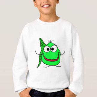 Cartoonfische Sweatshirt