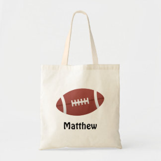 Cartoonfußballpersonalisierte Namensgewohnheit Einkaufstasche