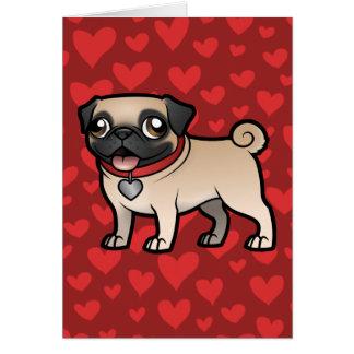 Cartoonize mein Haustier Grußkarte