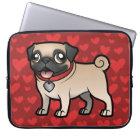 Cartoonize mein Haustier Laptopschutzhülle