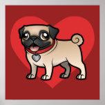Cartoonize mein Haustier Poster