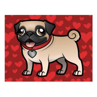Cartoonize mein Haustier Postkarten