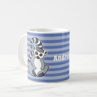 CartoonRingtailed Lemur Kaffeetasse