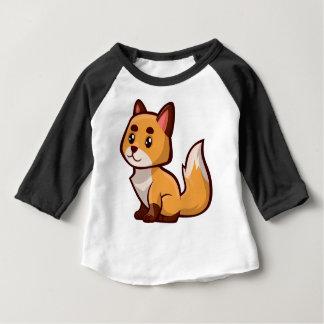 Cartoonroter Fox Baby T-shirt