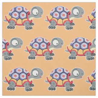 Cartoonschildkröte Stoff