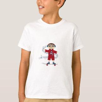 Cartoonskateboard-Kind T-Shirt
