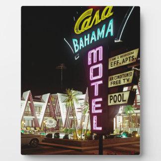 Casa Bahama Motel in Wildwood, New-Jersey, Fotoplatte