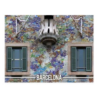 Casa Batllo - Antoni Gaudi, Barcelona Postkarte