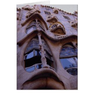 Casa Batllo, Barcelona, Spanien Karte