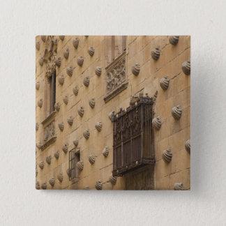 Casa de Las Conchas, Haus der Muscheln Quadratischer Button 5,1 Cm