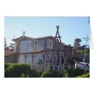 casa de Neruda isla negra Karte